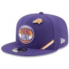 New Era NBA Phoenix Suns Draft 9FIFTY Snapback Cap Purple