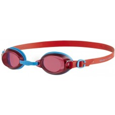 Speedo Unisex Jet Junior Goggles Blue Red