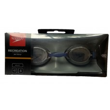 Speedo Jet Mirror Adult's Anti Fog Goggles Navy Black