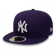 New Era Baseball Kids MLB New York Yankees 59Fifty Cap Purple