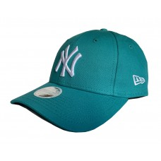 New Era 9Forty NY Yankees Basic Baseball Cap Women's Torquise