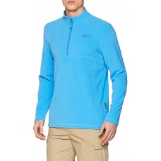 Jack Wolfskin Men's Gecko Fleece Jumper Blue