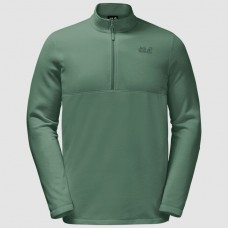 Jack Wolfskin Men's Gecko Fleece Jumper Green Sage