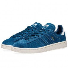 Adidas Campus Adult's  Suede Leather Trainers Blue