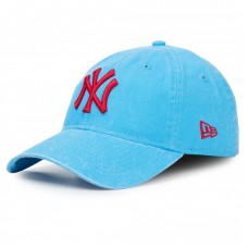 New Era 9Twenty NY Yankees Washed Adjustable Cap Blue