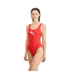 Puma Classic Women's Swimsuit Red