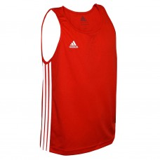 Adidas Performance Men's Boxing Vest Red