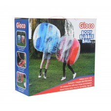 Gioco Body Bubble Ball Red or Blue Play Fun
