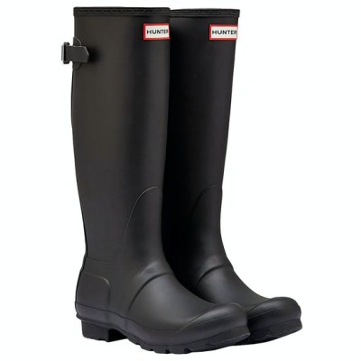 COMING SOON - Hunter Women's Original Tall Back Adjustable Black Boots